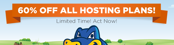 hostgator coupon code 60% off